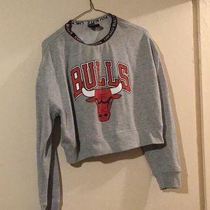 Chicago bulls crop top
